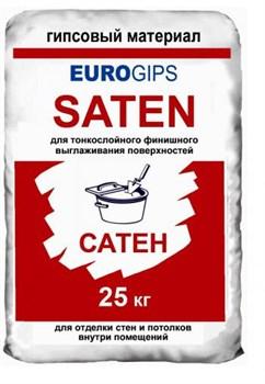 Шпаклевка Еврогипс Сатен финиш (25кг) - фото 4334