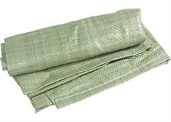 Мешок строительный полипропиленовый зелёный - фото 4953