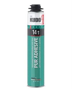 Клей-пена Kudo Pur Adhesive д/теплоизол.14+ 1000ml (Под пистолет) - фото 5059