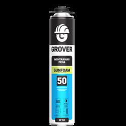 Монтажная пена Grover GF50 750ml (Под пистолет) - фото 5078