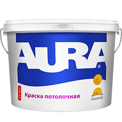 Аура Ekonomy Краска для потолков (5л) - фото 5299