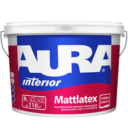Аура Краска Mattlatex (4,5л) - фото 5642