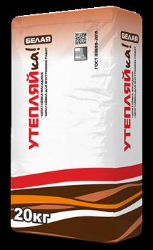 Утепляйка Шпаклевка фасадная  финишная белая (20кг) - фото 6208