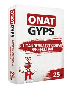 Онат Гипс финиш (25кг) - фото 6292