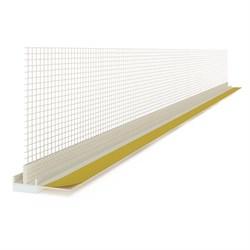 Профиль примыкания оконный с сеткой 6мм*2.4м - фото 6305