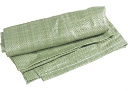 Мешок строительный полипропиленовый зелёный