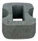 Блок колонный круглый проходной 32х32х19см