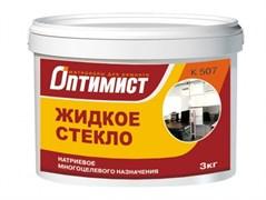 """Жидкое стекло """"Оптимист"""" (6 кг)"""